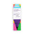 Pack of purple coloured pencils in colourful packaging with purple text and logo Love Writing Co. erasable handwriting pencils to encourage tripod grip for children
