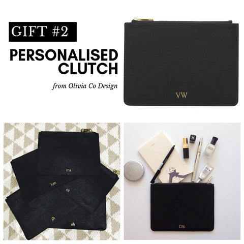 Leather Clutch Bridesmaid Gifts