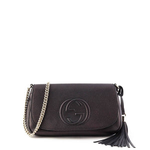f07949d5c030 Gucci Black Soho Chain Crossbody Bag
