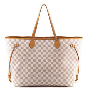 aeecd7ba47b7 Louis Vuitton Damier Azur Neverfull GM