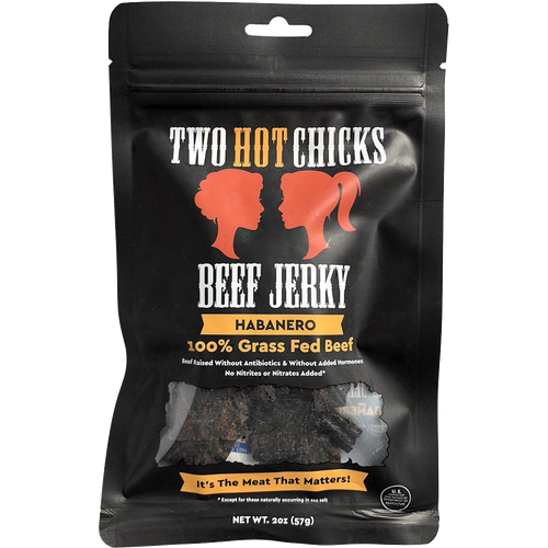 Two Hot Chicks Beef Jerky