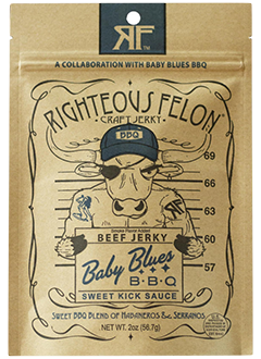 Righteous Felon Beef Jerky
