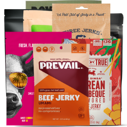 Jerky Subscription Gift Box - Eight Bags - Three-Months Prepaid