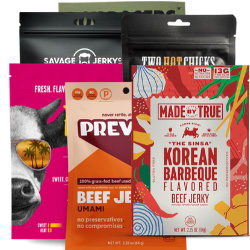Jerky Subscription Gift - Six Bags - Three-Months Prepaid