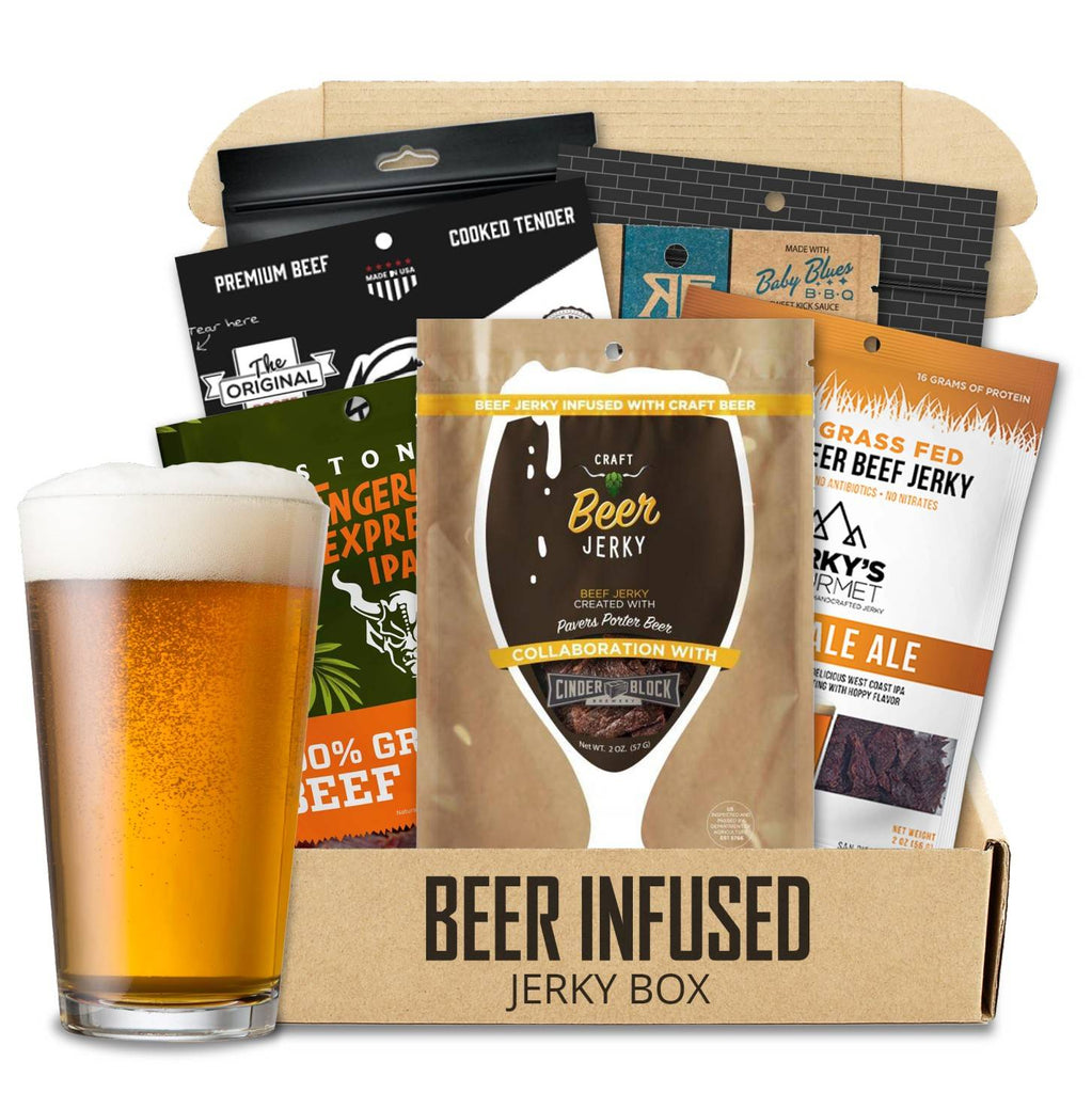 Beer-Infused Jerky Box