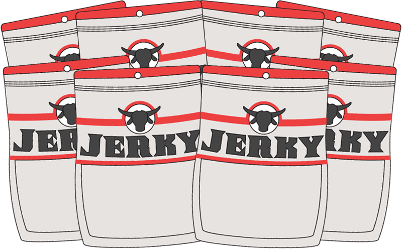 Jerky Subscription - Eight Bags - Three-Months Prepaid