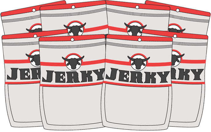 Jerky Subscription - Eight Bags - Monthly