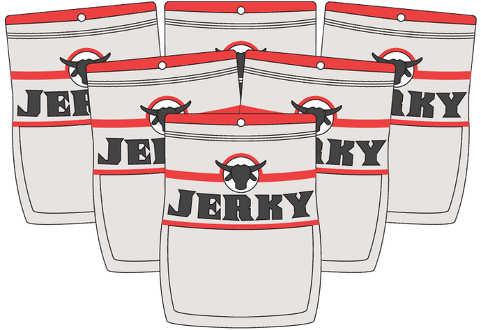 Jerky Subscription - Six Bags - Monthly