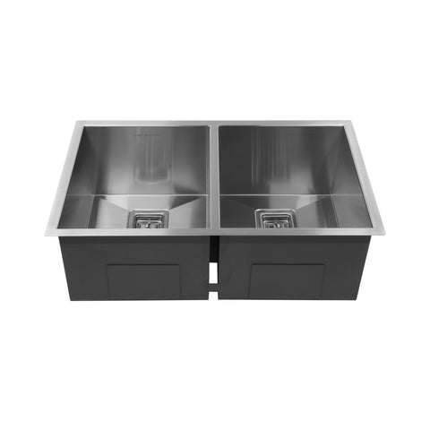 "36"" Double Bowl Under-mount Sink"