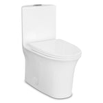 Compact One Piece Elongated Seat Dual Flush Toilet 5020