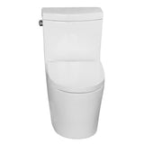 Compact One Piece Elongated Seat Dual Flush Toilet 5026