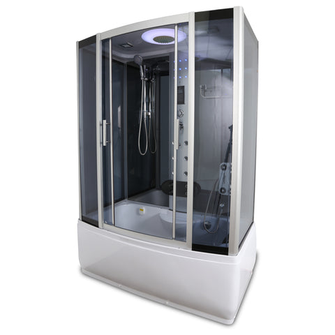 "59"" x 29 ½"" Y9001 Rectangle Steam Shower and Tub Enclosure"