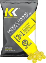 Load image into Gallery viewer, Free KrampKrusher Trial Package - Salty Limon Flavor - 3 Packs with 10 Chews per bag
