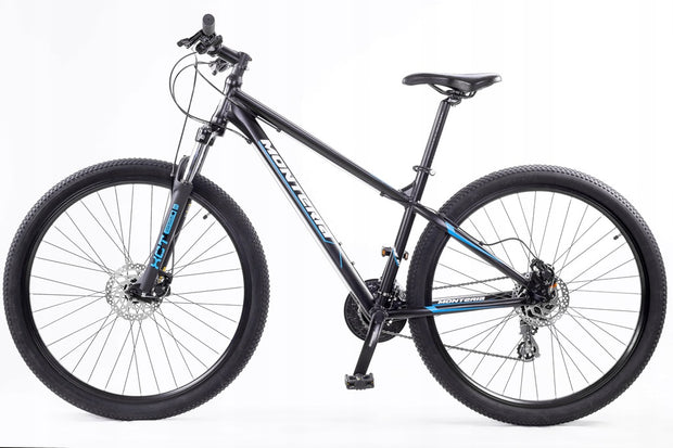 "Monteria SHOTTAS 0.1 29 17"" 19"" 21"" Black Blue 2020 Mountain Bike"