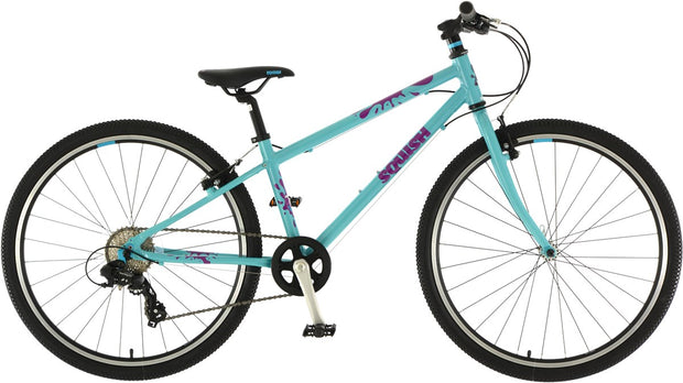 "Squish Lightweight Aqua Junior 26"" Hybrid Bike"