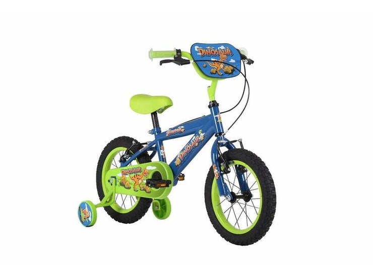 "Bumper Dinosaur 12"" Fun Kids Bike"