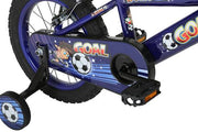 "Bumper Goal 12"" Fun Kids Football Bike"