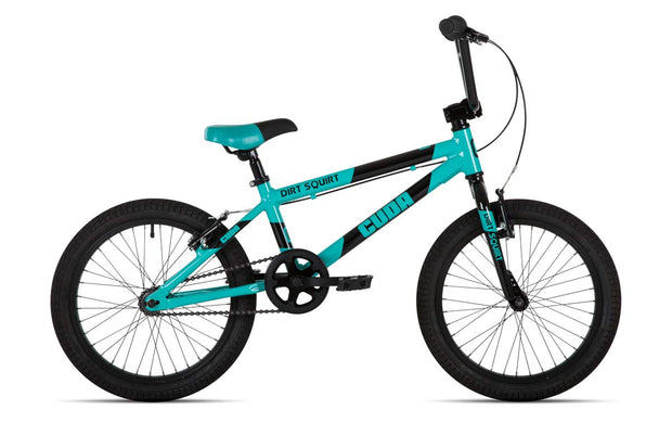 "Cuda 18"" Dirt Squirt Black Blue Boys Junior Kids Bike"