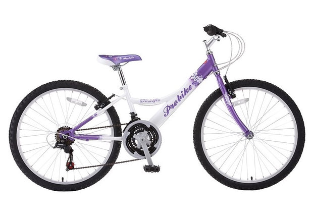 "Probike Melody 24"" Girls Kids Junior Bike"