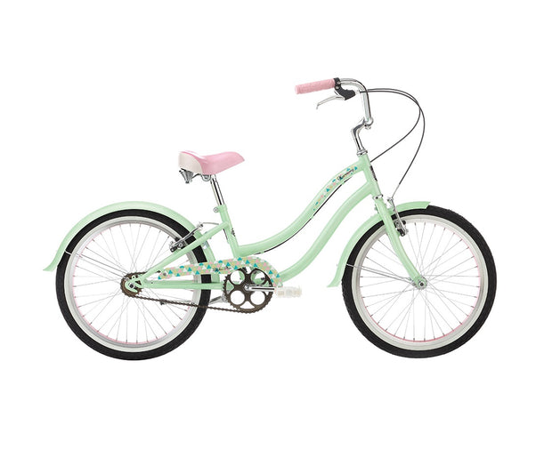 "Alpha Plus Harmony Girls Green 20"" Bike - lescycles.co.uk"