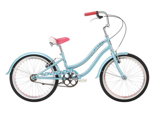 "Alpha Plus Harmony Girls Ice Blue 20"" Bike - lescycles.co.uk"