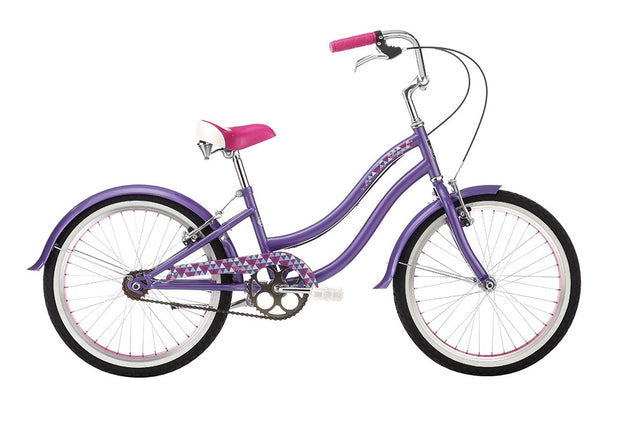 "Alpha Plus Harmony Girls Purple 20"" Bike - lescycles.co.uk"