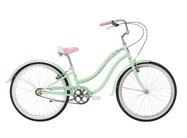 "Alpha Plus Harmony Girls Green 24"" Bike - lescycles.co.uk"