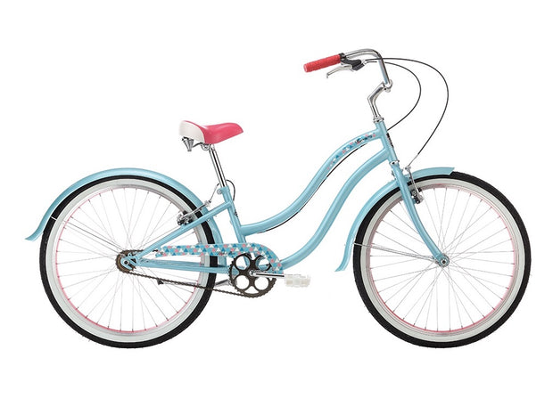 "Alpha Plus Harmony Girls Ice Blue 24"" Bike - lescycles.co.uk"