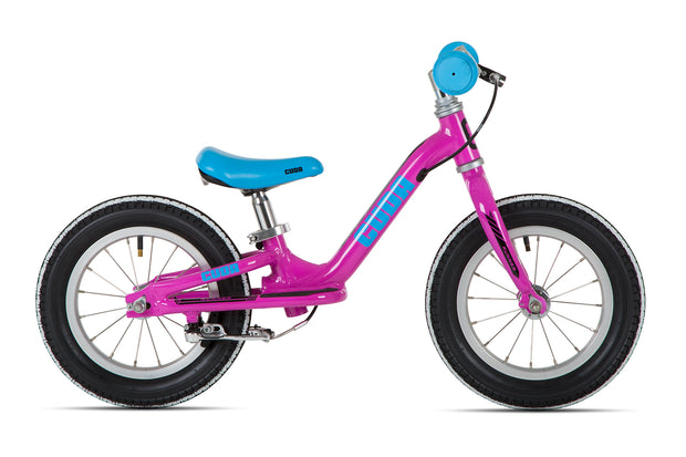 Cuda Runner 12″ Pink Girls Balance Bike - lescycles.co.uk