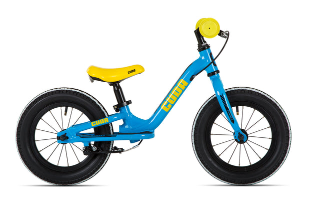 Cuda Runner 12″ Blue Boys Balance Bike - lescycles.co.uk