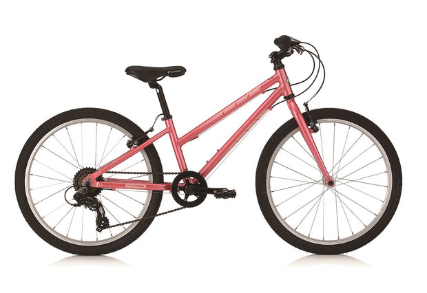 "Python Elite Girls Pink 24"" Lightweight Mountain Bike"