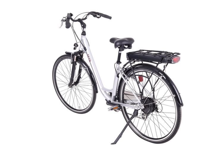 Batribike ZETA Silver Unisex Easy To Use Step Through Electric Bike E-Bike