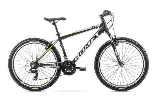 Romet Rambler R6.0 Alloy Hardtail Mountain Bike 14 Frame Black - lescycles.co.uk