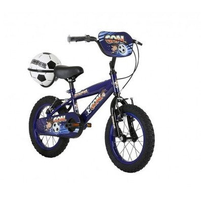 "Bumper Goal 12"" 14"" 16"" Fun Kids Football Bike"