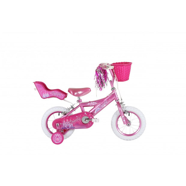 "Bumper Sparkle Fun Kids Bike 12"" 14"" Ideal Starter Bike"