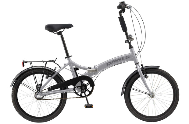 "Dawes Diamond 20"" Grey Folding Bike"