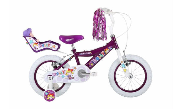 "Bumper Dolly Fun Kids Bike 12"" or 16"""