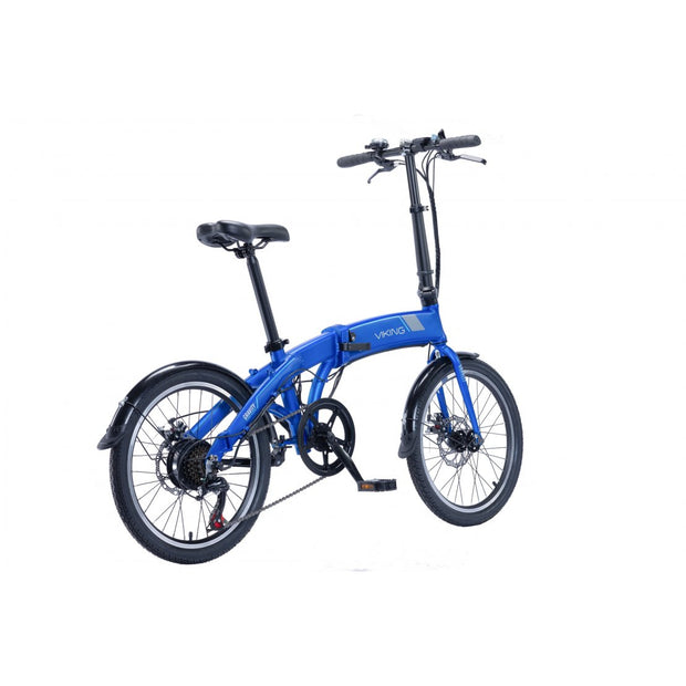 "Viking Gravity 20"" Folding 24V 250W Blue E-Bike"