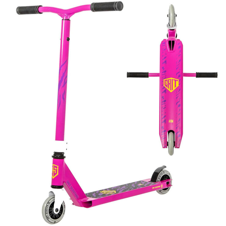 Grit Atom Complete Scooter Pink 2021 - lescycles.co.uk