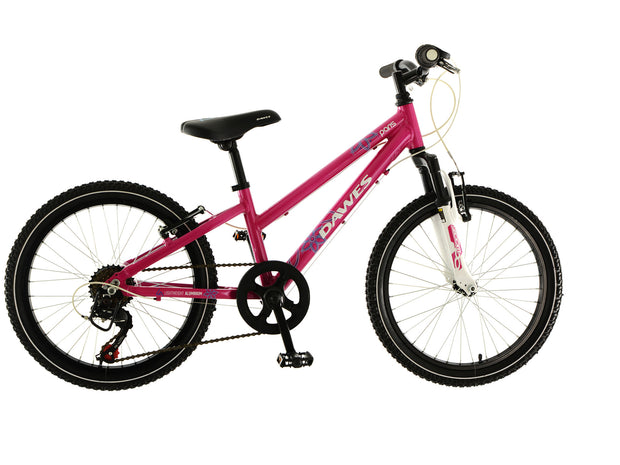 "Dawes Paris 20"" Girls Junior Kids Mountain Bike"