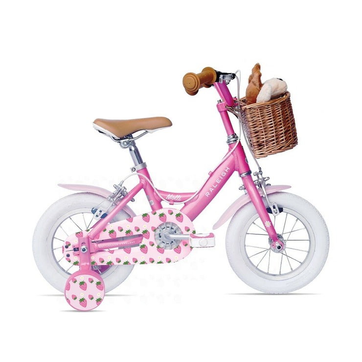 "Raleigh Molli 12"" Kids Girls Bike Pink 2021"