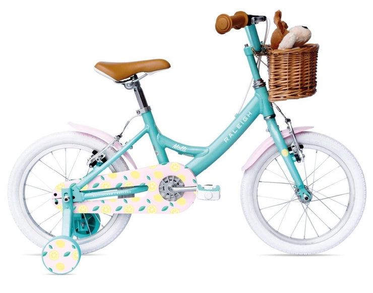 "Raleigh Molli 16"" Kids Girls Bike 2021 Aqua"