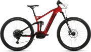 Forme Black Rocks FSE Red E-Bike Mountain Bike Full Suspension - lescycles.co.uk