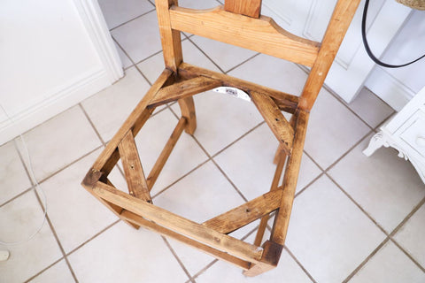 pine chair diy