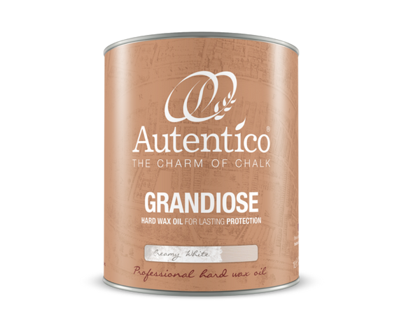 Grandiose Wax Oil - Creamy White-Furniture Wax-Autentico Paint Online