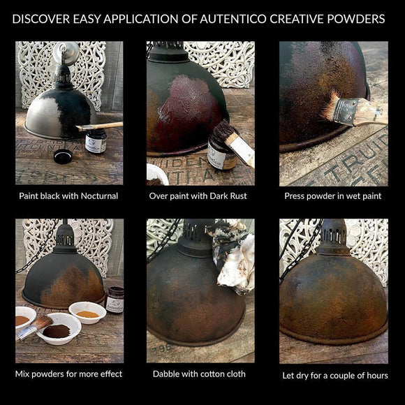 Rust in a Jar-Creative Powder-Autentico Paint Online