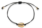 Adjustable Shell Bracelet