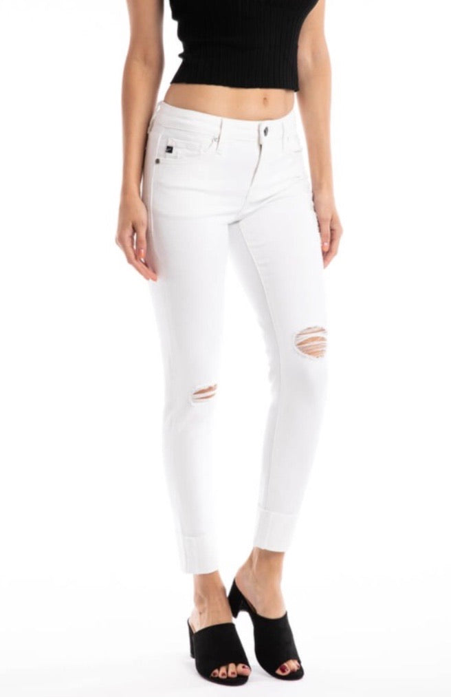 KanCan8245 White Skinny Jean - Pineapple Lain Boutique
