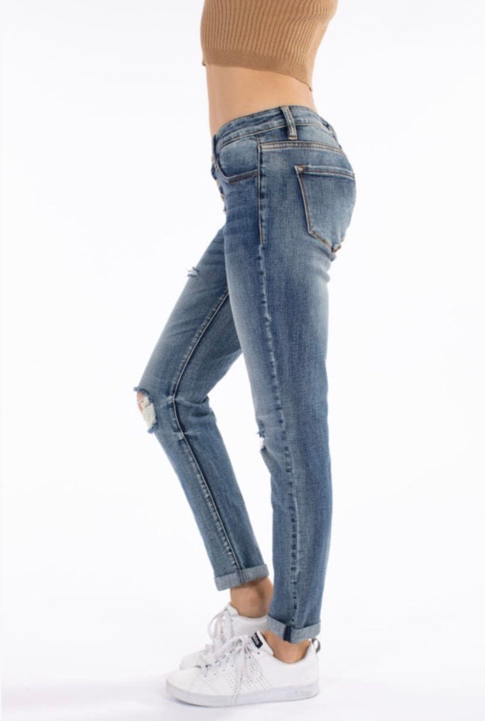 KanCan5118 Button Fly Skinny Jean - Pineapple Lain Boutique