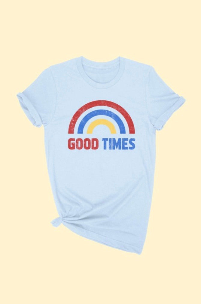Good Times Graphic Tee - Pineapple Lain Boutique
